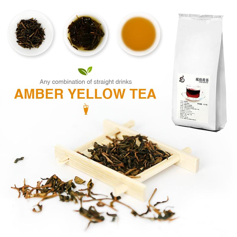 Tea Amber Yellow Tea for Milk Tea in Western Restaurant of Waterbar Chinese Restaurant - 4uTea   4uTea.com