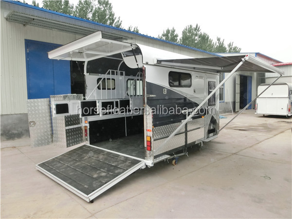 2 Horse Float,The Caravan Floats With Fiamma Awning - Buy ...