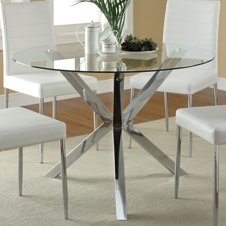 Retro Classy Dining Table For A Chic Dining Room Buy Glass Dining Table For Living Room Japanese Dining Table For Waiting Room Round Glass Top Chrome Dining Table For Interview Product On Alibaba Com