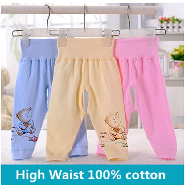 Baby Pants Newborn Baby Boys Girls Trousers 100 Cotton High Waist Casual CHEAP Chinese Baby Pants