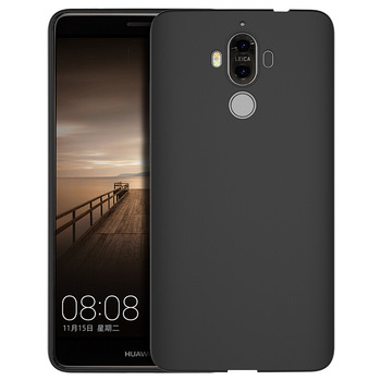 Best Cheap Price Black Color Soft Ultra Thin Dull Polish Matte TPU Mobile Phone Back Cover Case for Huawei Mate 8