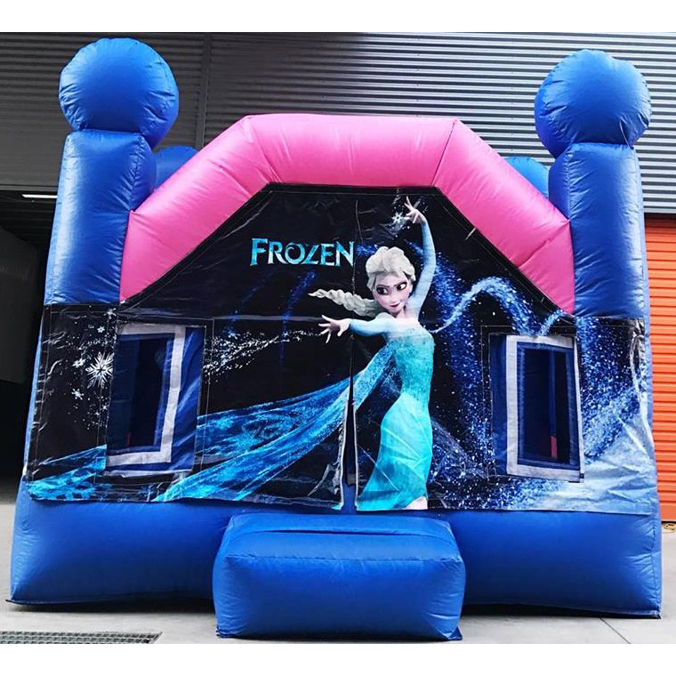 Frozen Castle Durable PVC Inflatable Bouncer House for party time