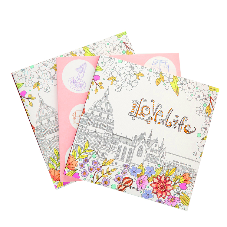 Fancy Adult Coloring Books Printing Services For Adult - Buy Coloring Books  For Adults,Coloring Book Printing,Adult Coloring Books Product On  Alibaba.com