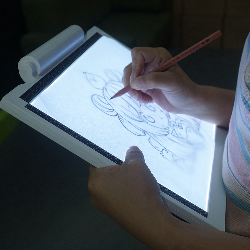A2 A3 A4 A5 usb draw led tracing light pad flexible 3 levels brightness battery powered led drawing board