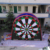 Football Shoot Inflatable Dart Board for Sale Double Side Customized High Quality 16.5ft PVC