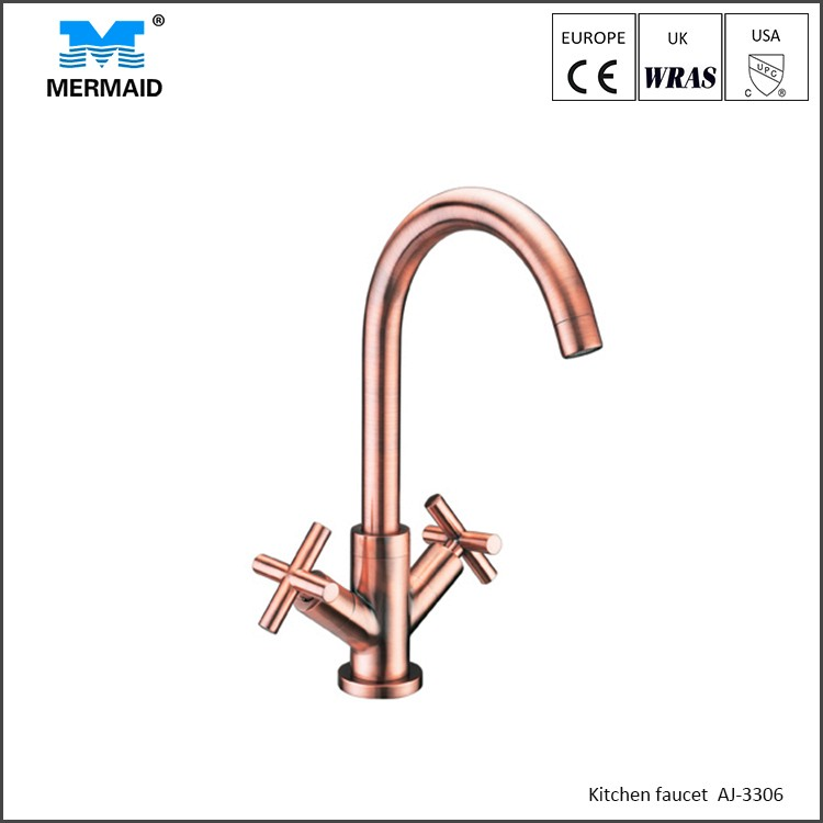 rose gold exquisite faucet with individual lever kitchen taps uk