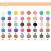 40 shimmer colors