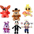 Plush Fnaf Five Nights At Freddy Bear Fox Rabbit Bunny Chica Duck Plush Toys Doll for