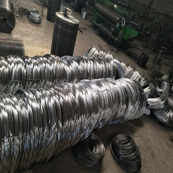 Hot dipped Galvanized wire Wire mesh material construction use