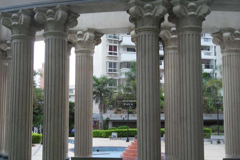 Diameter 25cm roman concrete columns mold