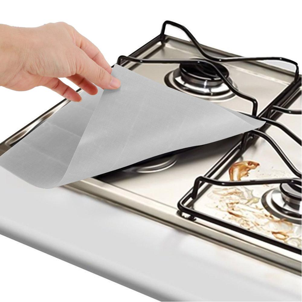 Customizable PTFE high quality kitchen gas stove cover burner protector