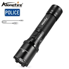 Alonefire TK700 Police Flashlight Cree L2 U3 Led Waterproof Outdoor Patrol Flash light Work Usb Torch 18650 Rechargeable battery