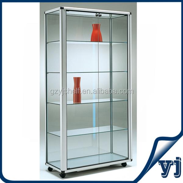 Kabinet Kaca Aluminium Kustom Pabrik Tiongkok Tsd G5414 Kabinet Kaca Tinggi Buy Tinggi Lemari Kaca Aluminium Dan Kaca Lemari Display Lemari Kaca Pajangan Product On Alibaba Com