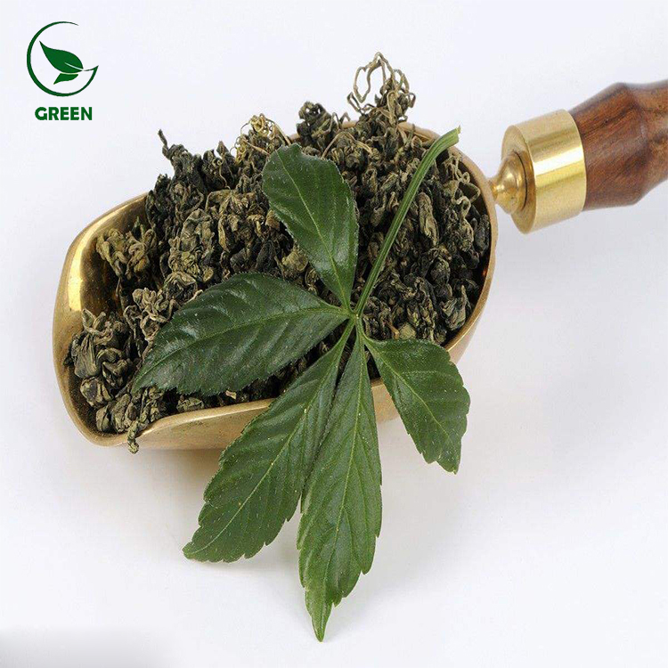 КИТАЙСКИЙ 100% натуральный чай Jiaogulan Gynostemma пентафиллум для похудения
