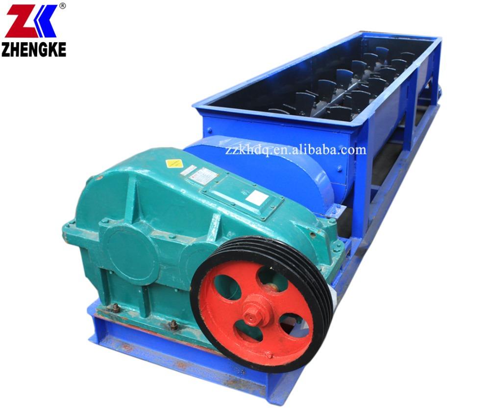 Kaolin clay magnesium oxide double shaft mixer for briquette making production line