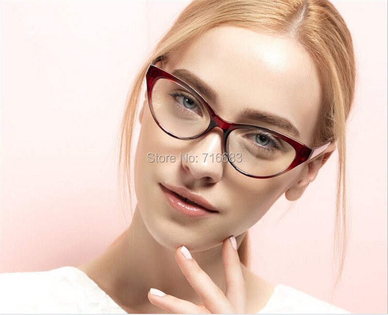 b8d64646bd 2019 Wholesale Agstum Ladies Women TR90 Cat Eye Design Full Rim ...