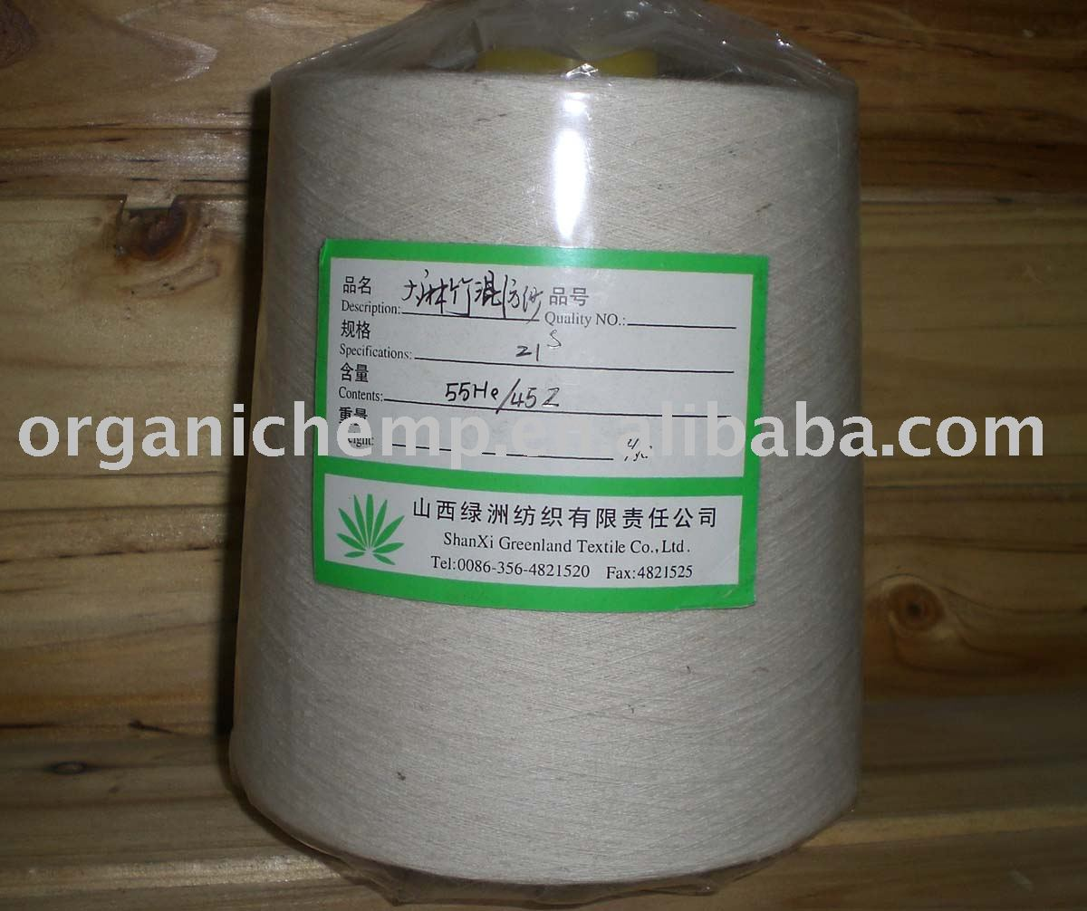 Экологически чистая пряжа из конопли/бамбука для детской одежды