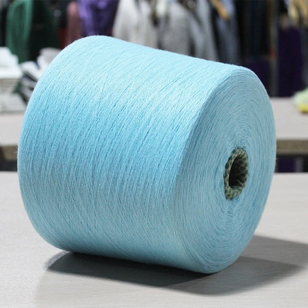 High quality knitted yarn 100% polyester yarns for knitting