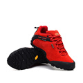 2016 women hiking shoes waterproof outdoor sneaker for low off road recreational sports cross country red