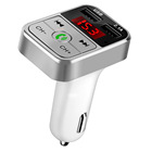 B2 Wireless Car FM Transmitter Wireless Radio stereo with Adapter Dual USB Charger Bluetooth Mp3 Player Support Handsfree Call