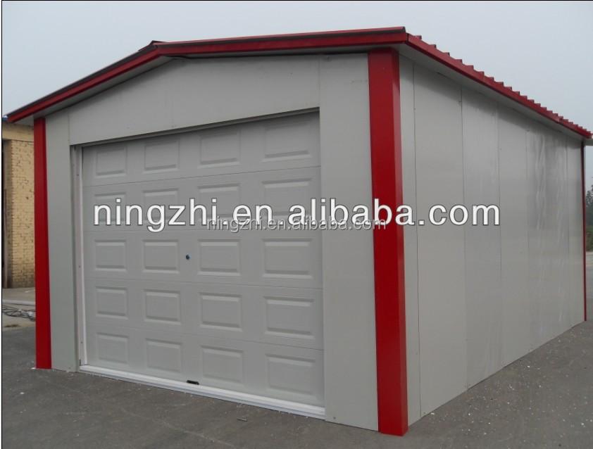 metall garage mit abstellraum zimmer stahl carport zum. Black Bedroom Furniture Sets. Home Design Ideas
