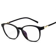 Модные прозрачные очки, оправа для женщин, винтажные прозрачные круглые очки, женские пластиковые прозрачные оптические оправы для очков ...(Китай)