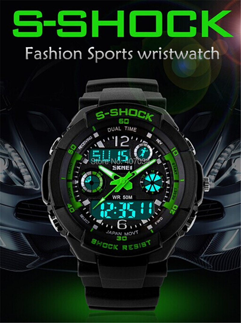 Military Watches G Shock For Kids Boys