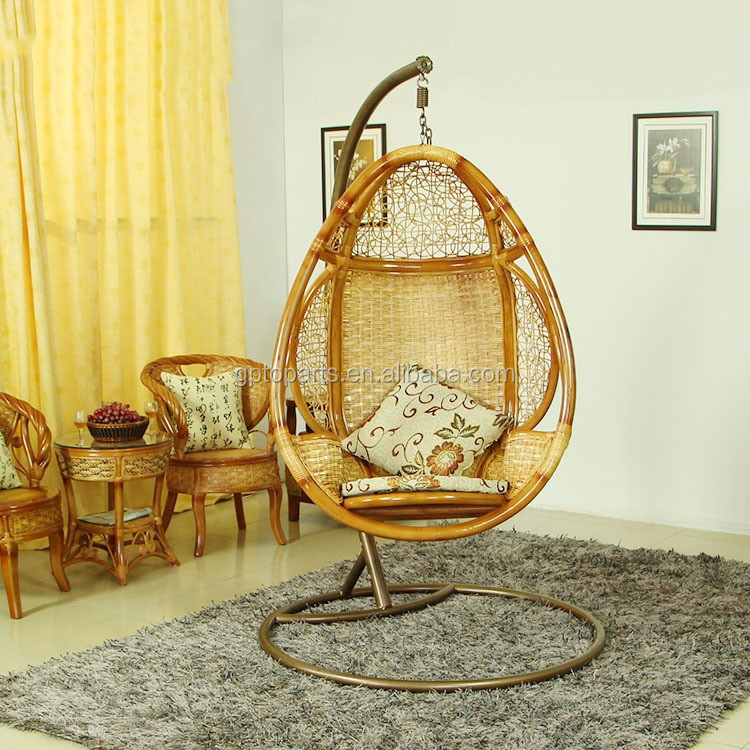 Wholesale Pod Hanging Real Rattan Swing Chair Home ...