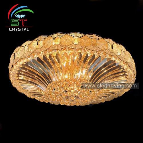 Современные светодиодные Хрустальные потолочные лампы