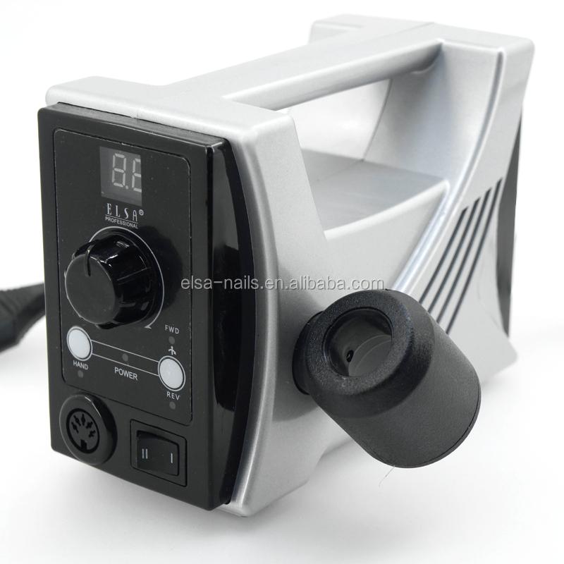 Электрическая шлифовальная машинка для ногтей, с зарядкой от Эльзы