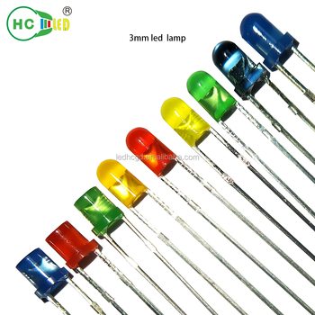 Hot Selling 3mm/5mm/10mm Diffused rgb mini led diode 5mm led diode