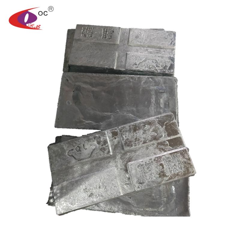 Wholesale High Purity Metal Zinc Ingots 99.995 Price