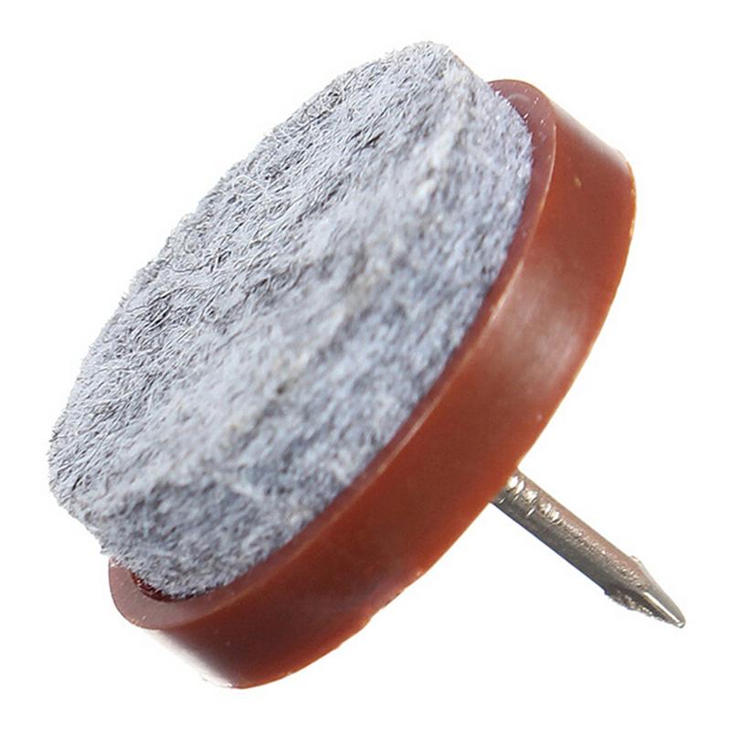 10PCS DIY Nail Protector Round No Noise Furniture Table