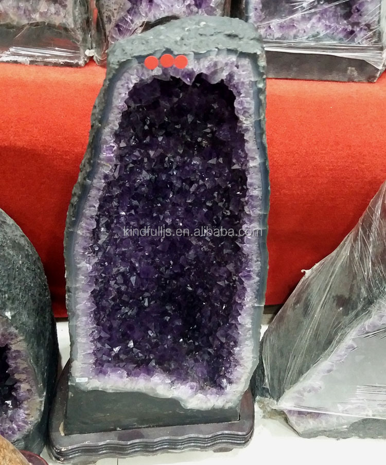 Natural Amethyst Cluster from Brazil