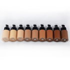 Base High Quality Waterproof 9 Color Facial Waterproof Make Up Face Base Private Label Liquid Foundation