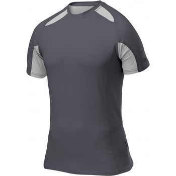 quick dry blank compression wear mens short sleeve running tee shirts