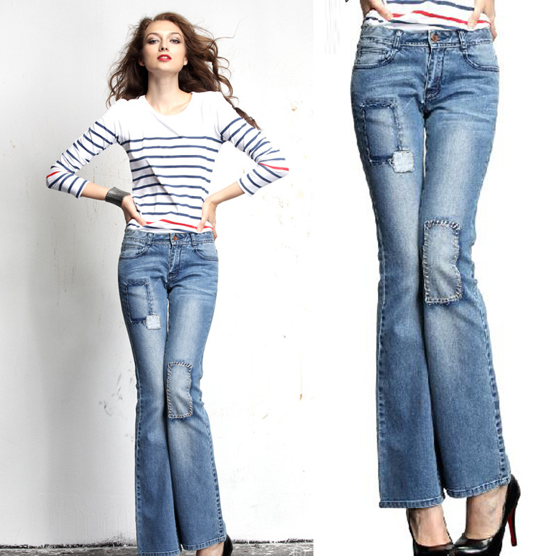 Bell Bottom Jeans. Slip into a pair of bell-bottom jeans and go for throwback style with a cool vintage vibe. Give this style a fashion-forward makeover with the latest designs! Modern Takes Exude confidence in bell-bottoms with a flawless fit and just enough finesse.