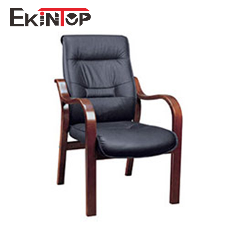 Solid wood frame stackable conference chair with cheap price