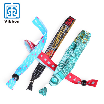 OEM ODM China No.1 supplier custom woven wristbands for events