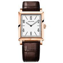 Часы AGELOCER Swiss, элегантные женские часы в ретро стиле, модные роскошные кварцевые часы, женские повседневные кожаные Наручные часы(Китай)