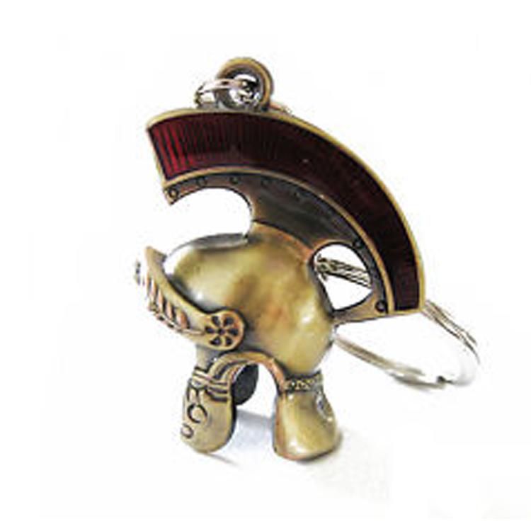 Roman helmet  keychain