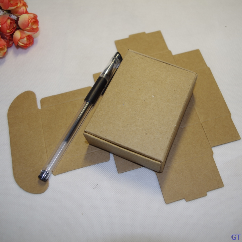 93029634e94 10 Sizes Brown Color Folding Gift Packaging Kraft Paper Box Event ...