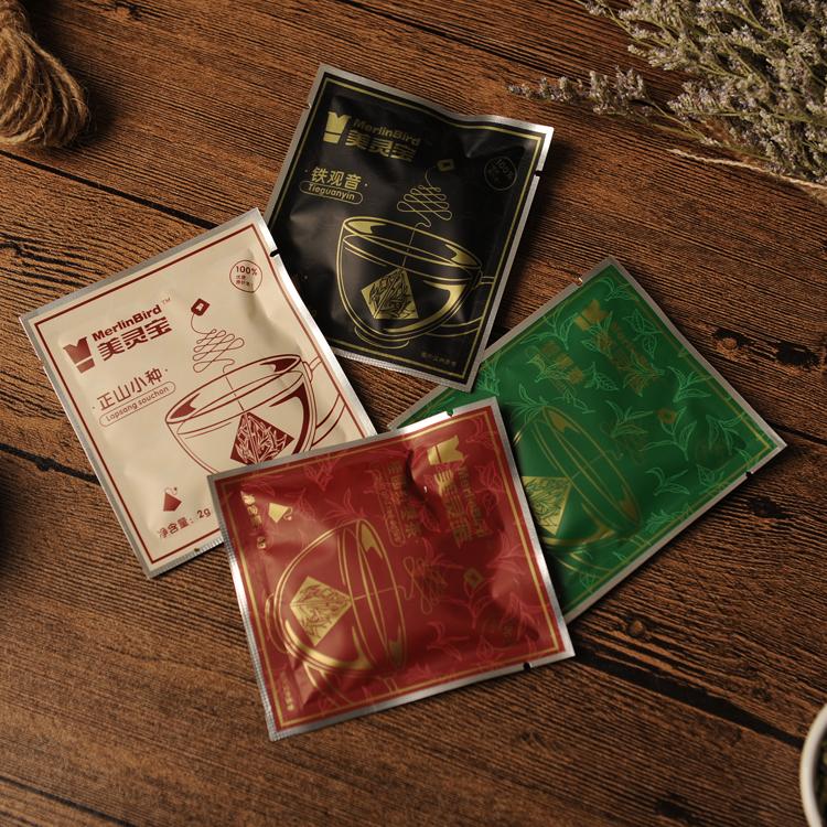 Chinese good quality nylon individual round loose leaf tea bags with string - 4uTea   4uTea.com