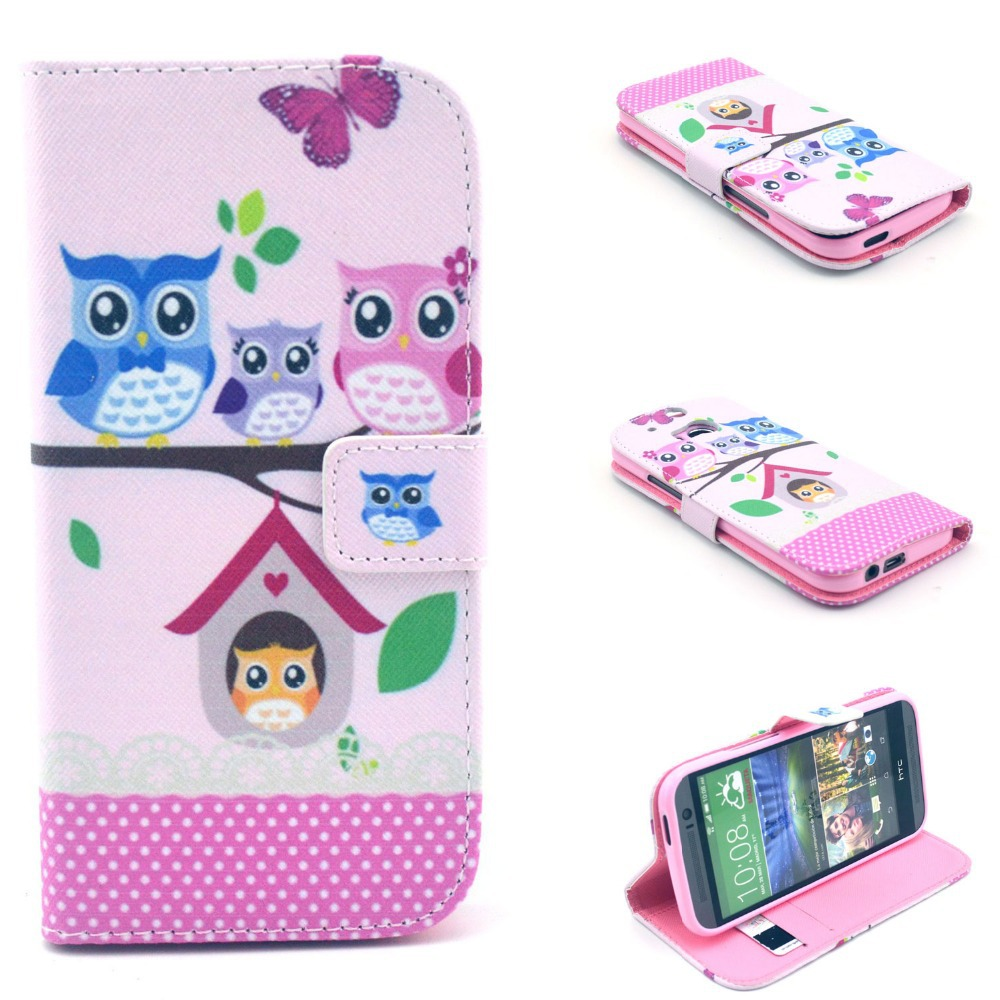 Leather Wallet Flip Smart Phone Cover Case for Samsung Galaxy Trend Plus S7580 S7582 GT S7580 GT ...