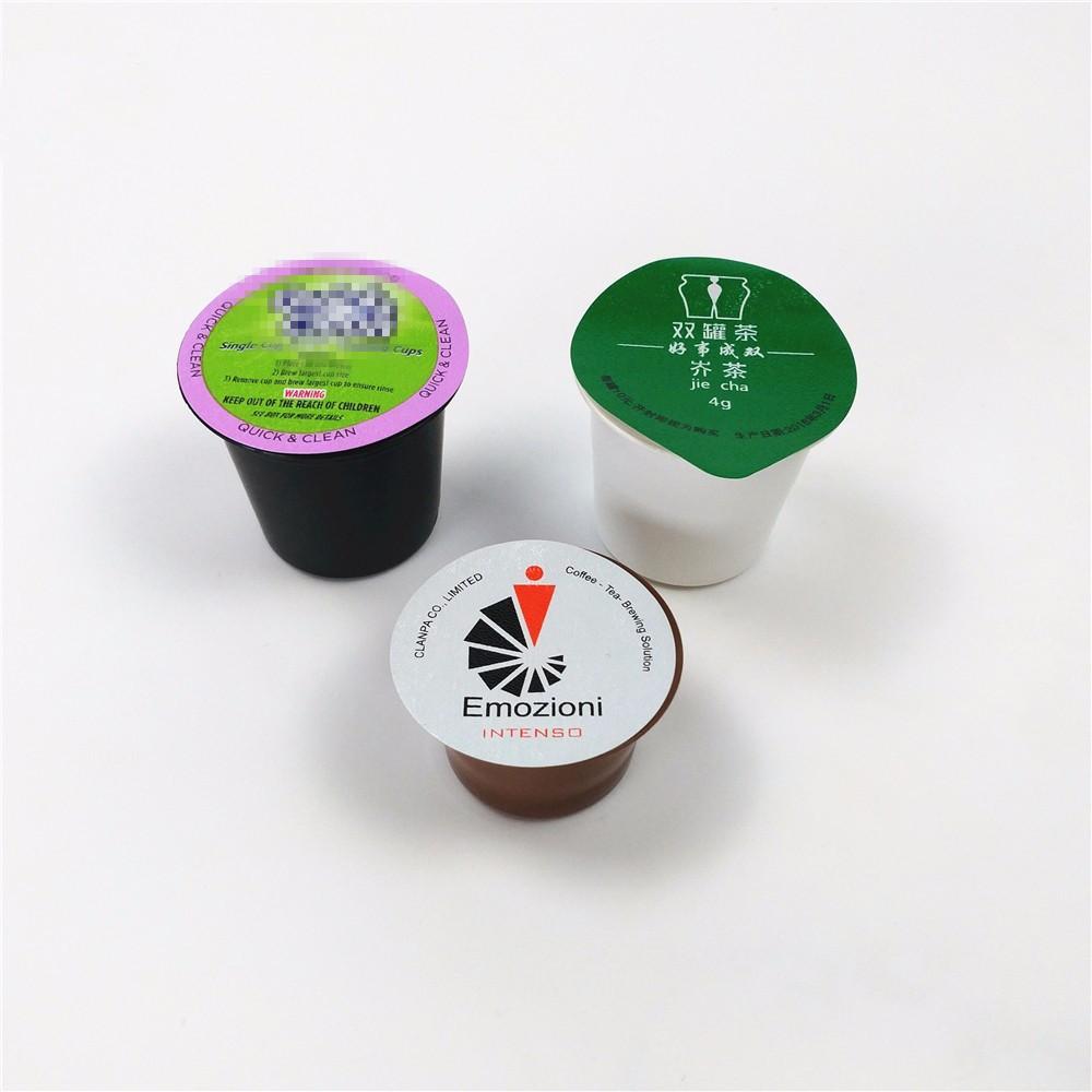 Одноразовые капсульные капсулы, капсулы для кофе nespresso из алюминиевой фольги, капсулы для кофе nespresso с крышкой