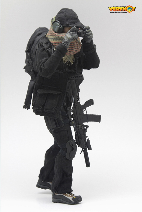 1/6 Military model VH1031 CIA2 0 Suit Set Clothes For 12in Male Solider  Action Figure Toy without body and head