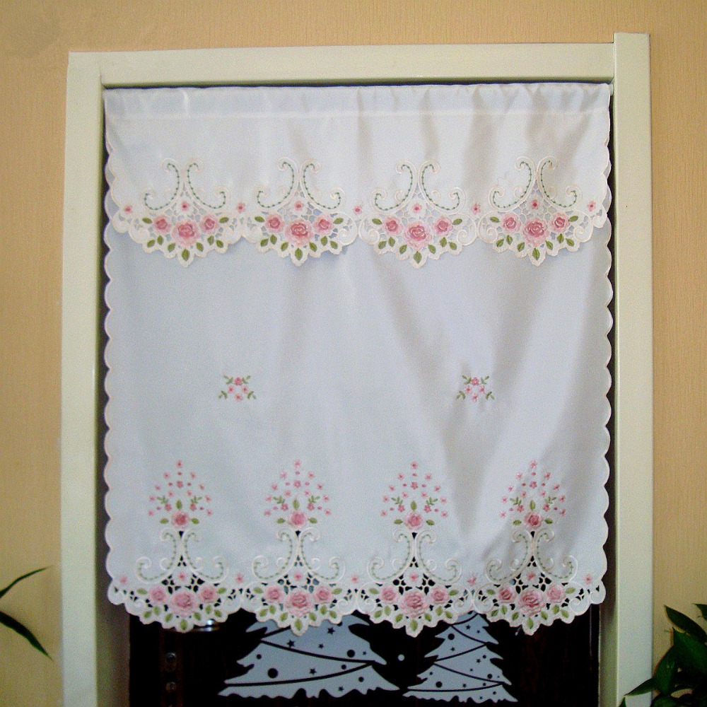 Popular Christmas Lace Curtains Buy Cheap Christmas Lace