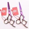 cutting scissor purple