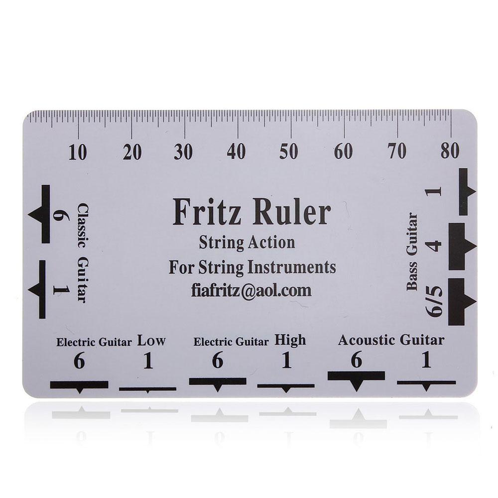 string ruler gauge tool for electric bass acoustic guitar string ruler gauge in guitar parts. Black Bedroom Furniture Sets. Home Design Ideas