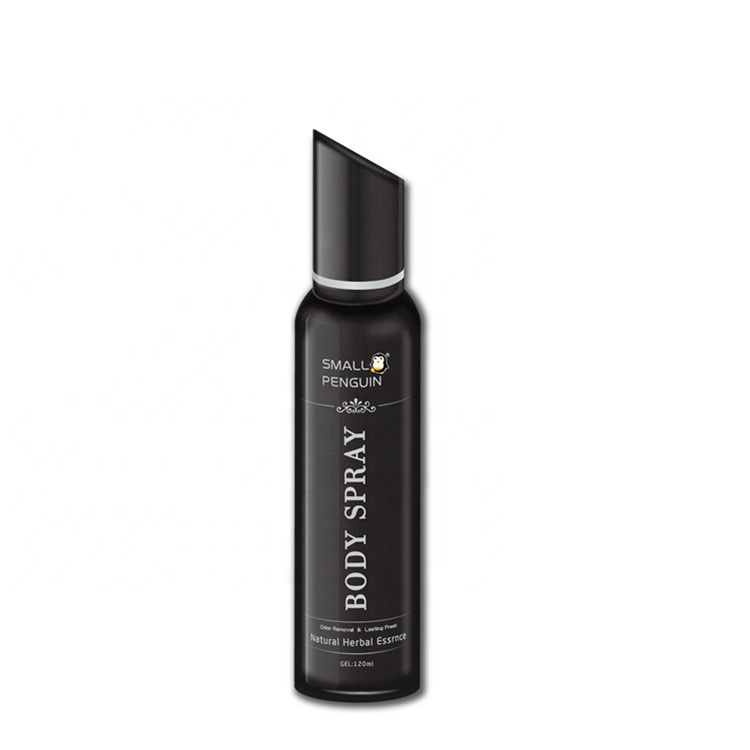 Aerosol movement type body spray deodorant